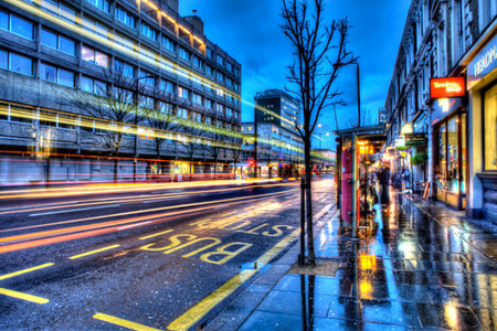 Nottinghill Evening Rush